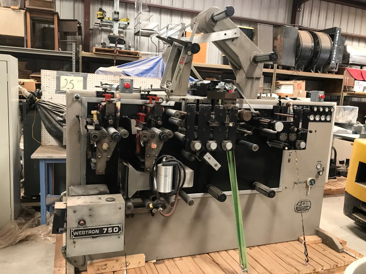 Webtron 750 - Used Flexo Printing Presses and Used Flexographic Equipment-2