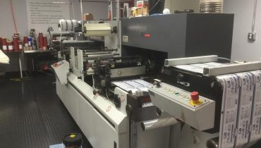 ABG Digicon Omega - Used Flexo Printing Presses and Used Flexographic Equipment
