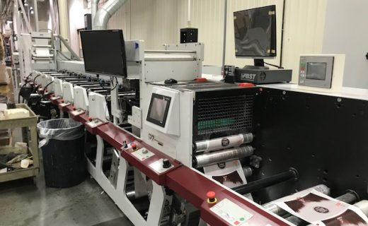 Mark Andy P7 - Used Flexo Printing Presses and Used Flexographic Equipment