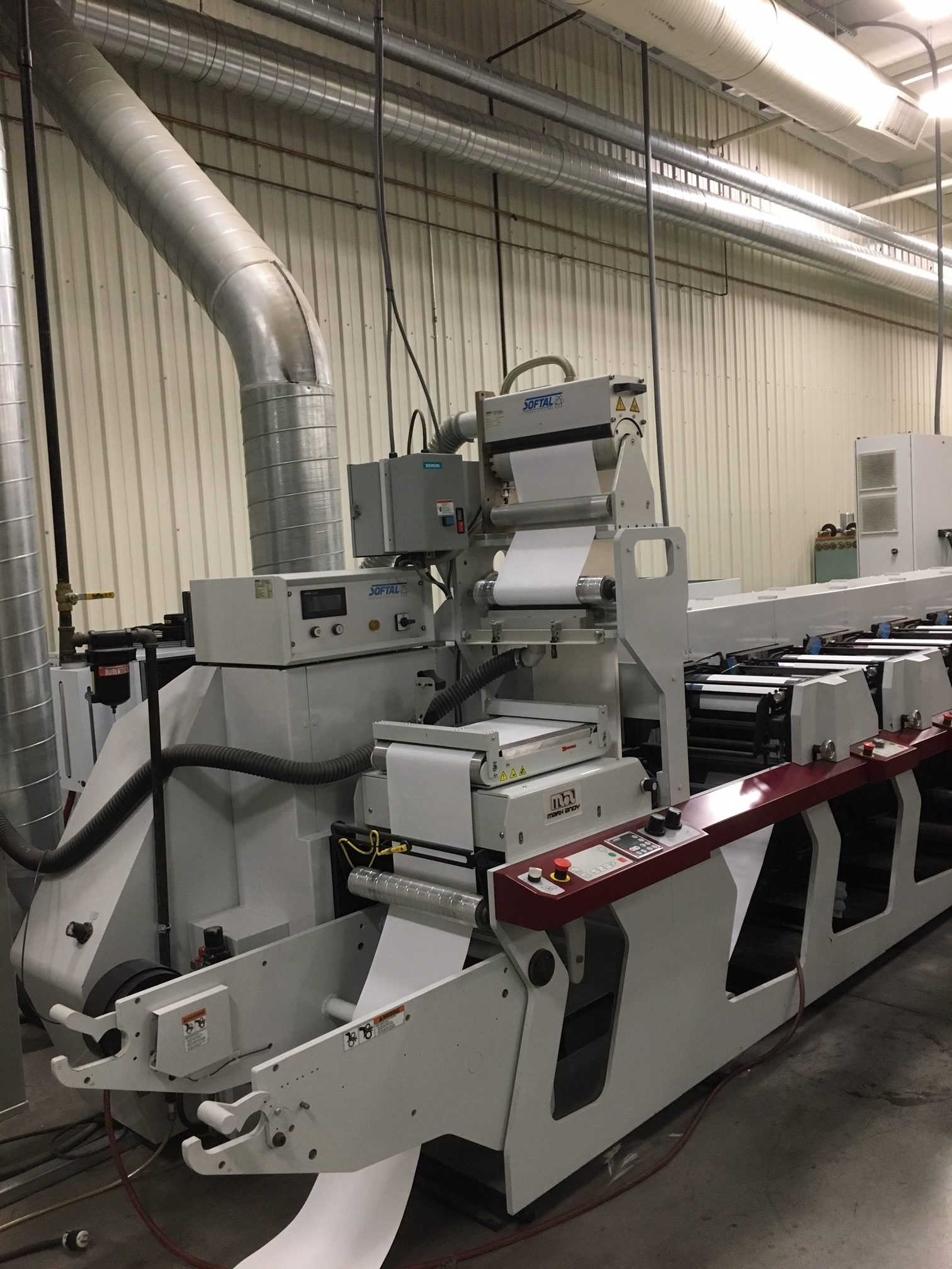 Mark Andy P7 - Used Flexo Printing Presses and Used Flexographic Equipment-10