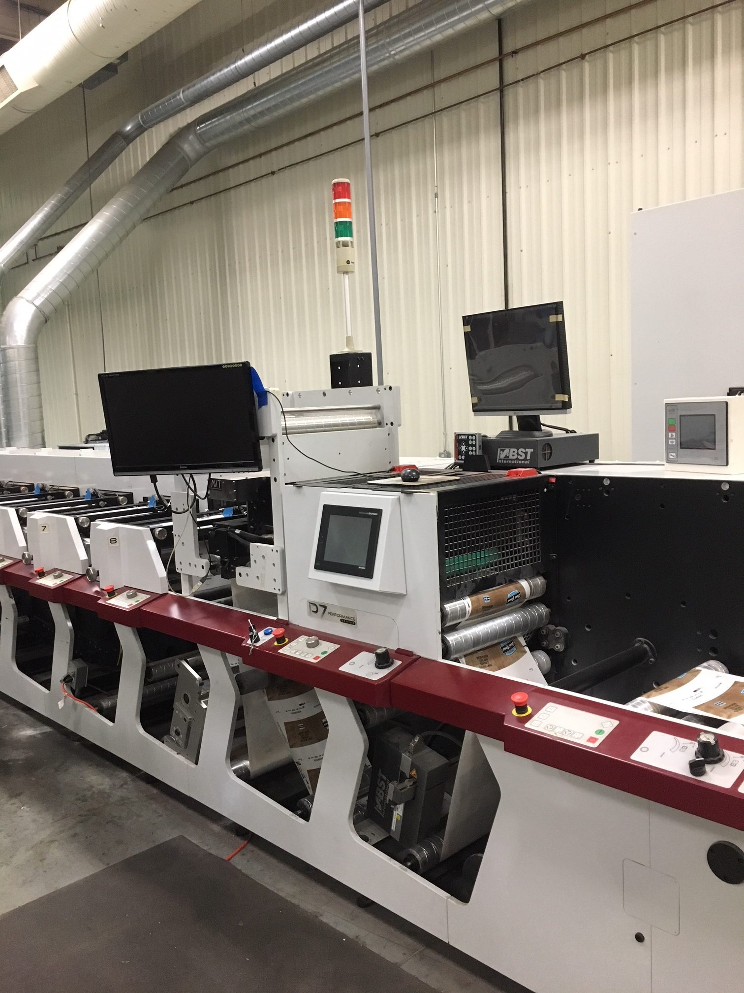 Mark Andy P7 - Used Flexo Printing Presses and Used Flexographic Equipment-8