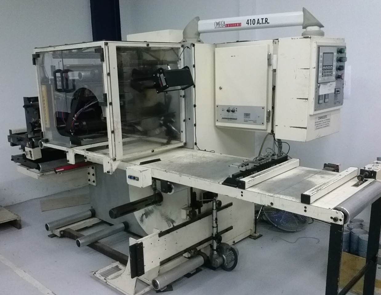 ABG Omega 410 ATR - Used Flexo Printing Presses and Used Flexographic Equipment-0