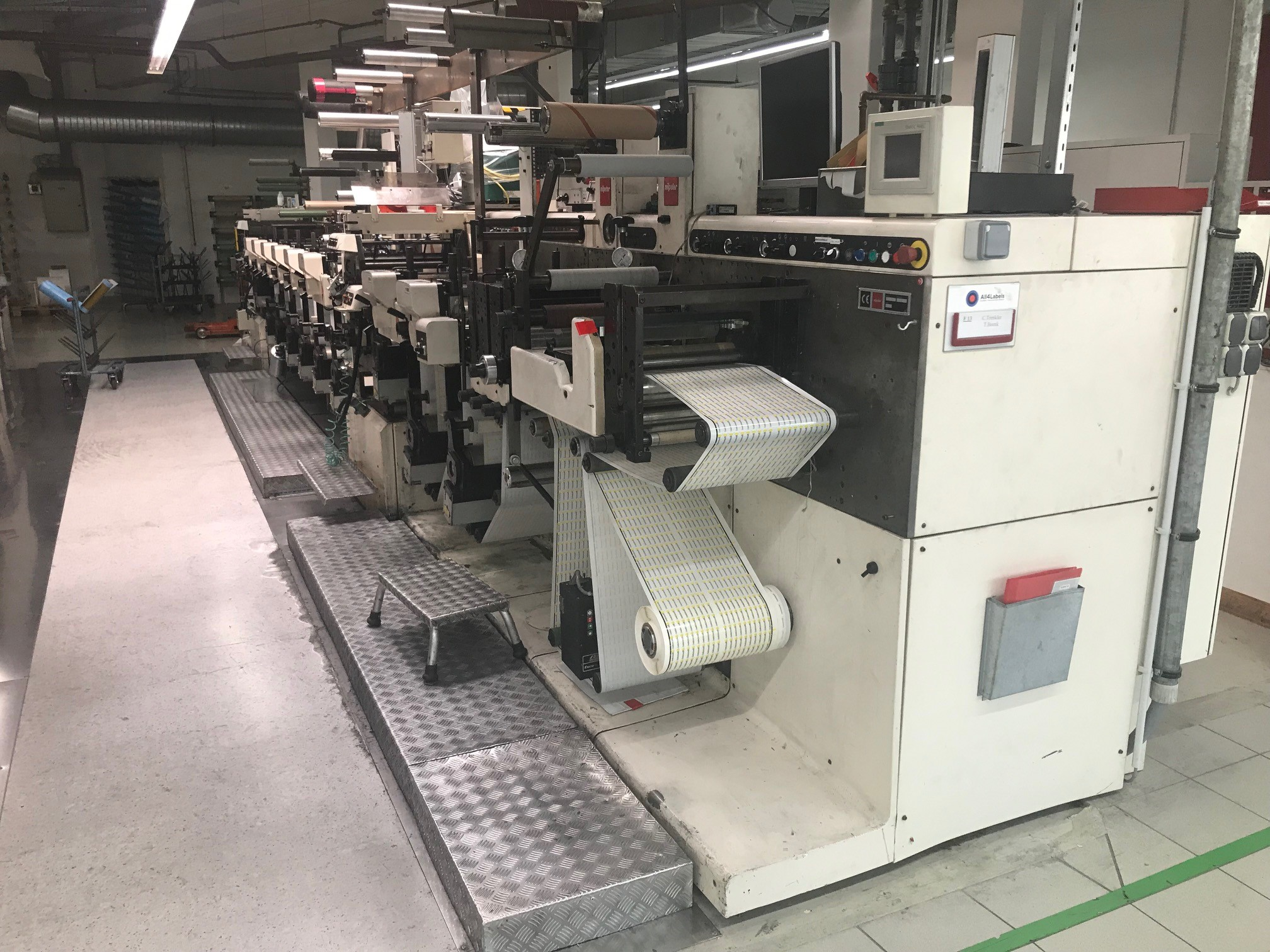 Nilpeter FA3300 - Used Flexo Printing Presses and Used Flexographic Equipment-2