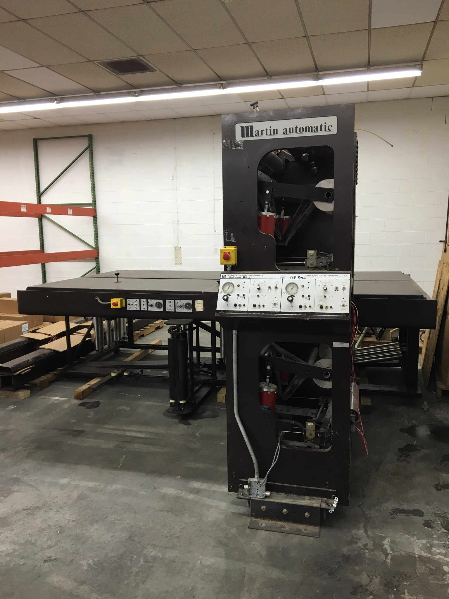 Martin EC Butt Splicer - Used Flexo Printing Presses and Used Flexographic Equipment-1
