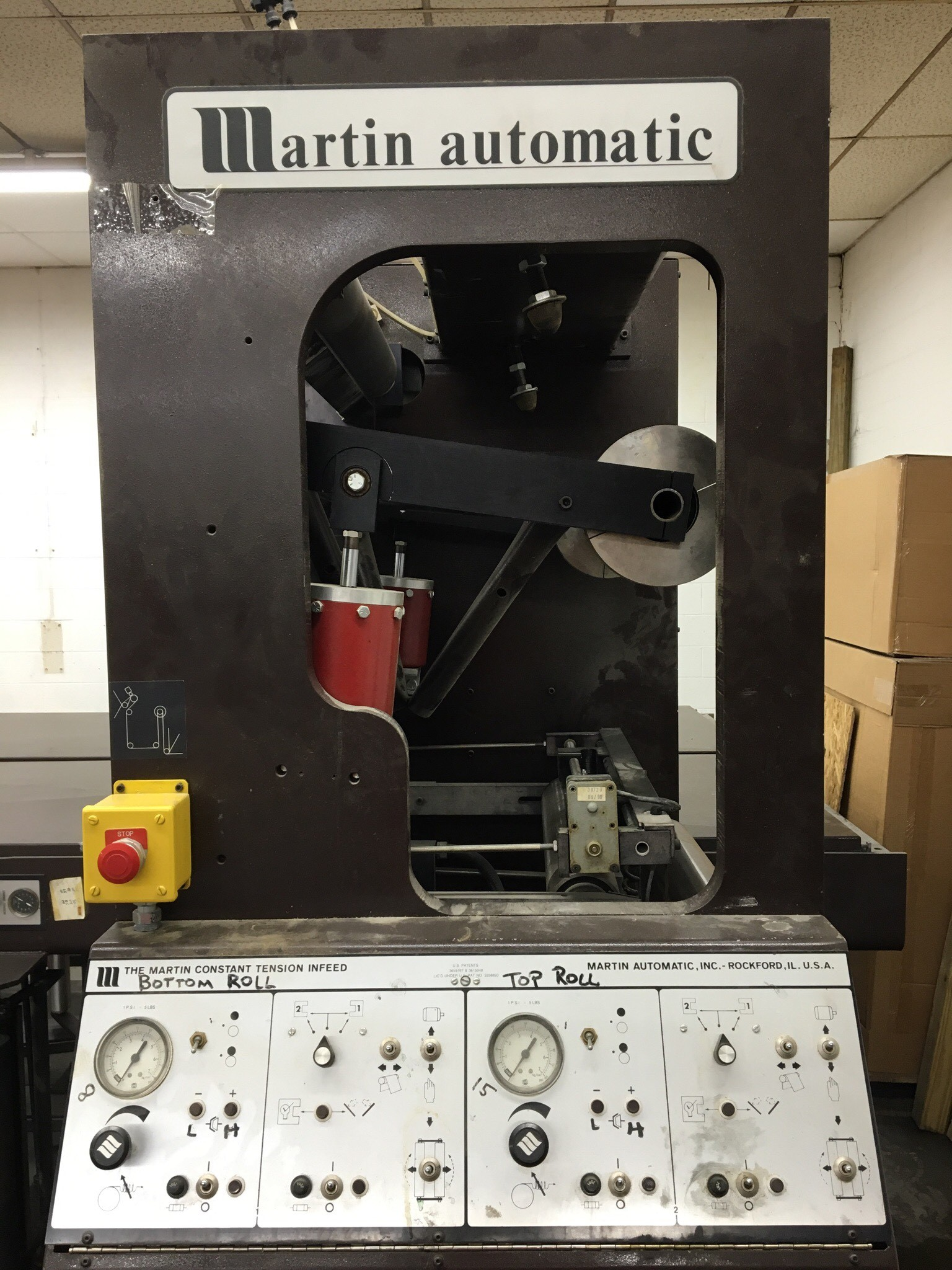 Martin EC Butt Splicer - Used Flexo Printing Presses and Used Flexographic Equipment-2