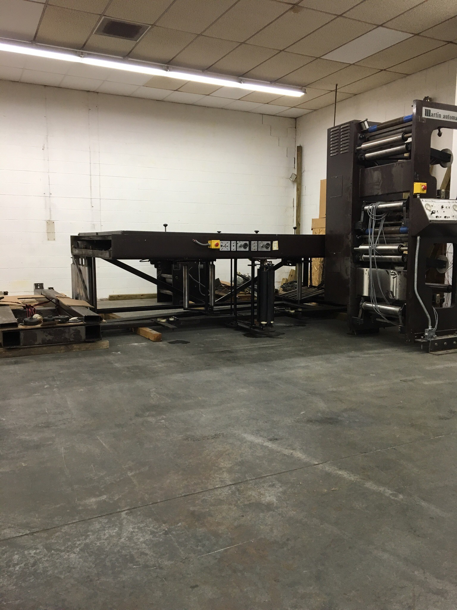 Martin EC Butt Splicer - Used Flexo Printing Presses and Used Flexographic Equipment-3