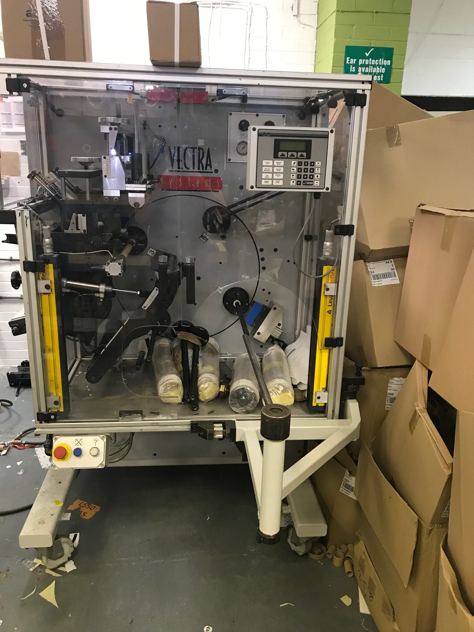 ABG Vectra ECTR330 - Used Flexo Printing Presses and Used Flexographic Equipment-7