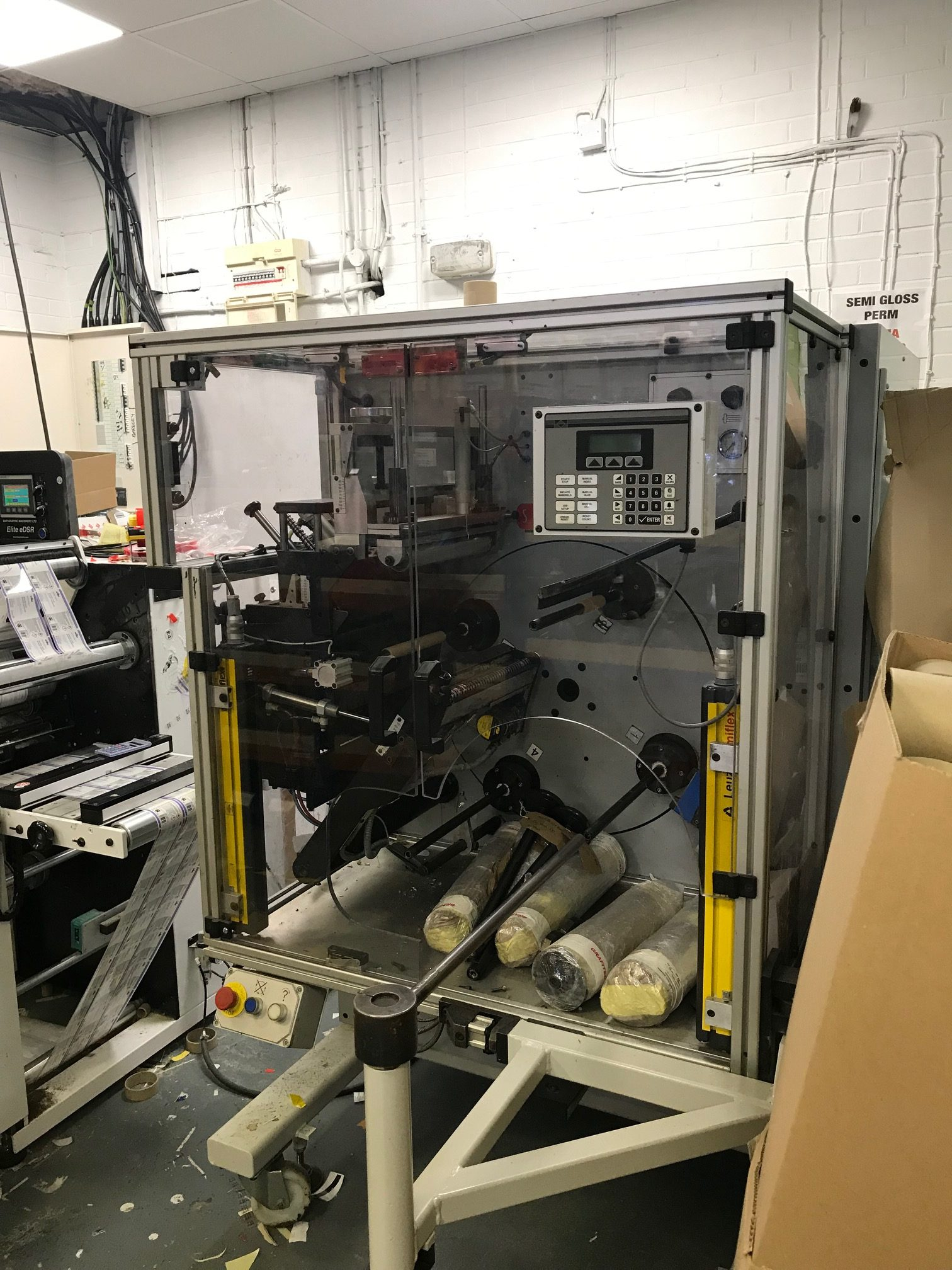 ABG Vectra ECTR330 - Used Flexo Printing Presses and Used Flexographic Equipment-4