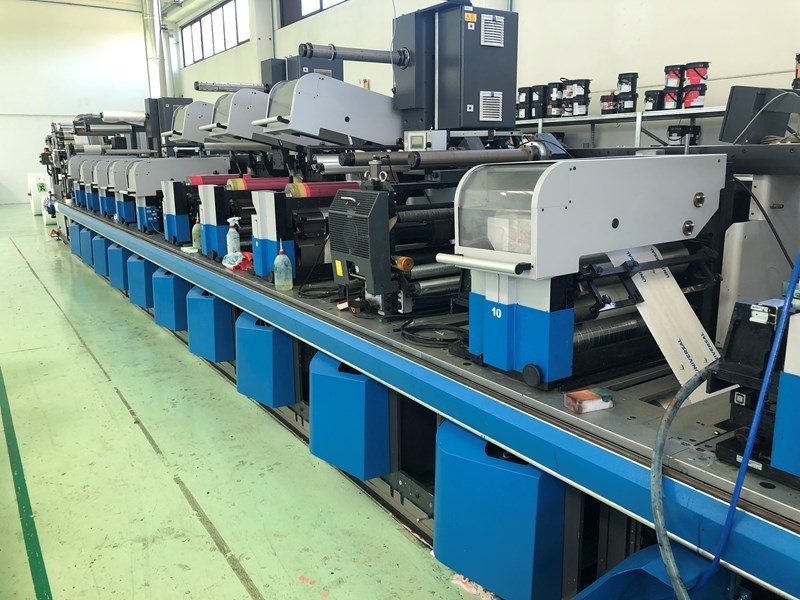 Gallus CCS510 + FMS510 - Used Flexo Printing Presses and Used Flexographic Equipment-0