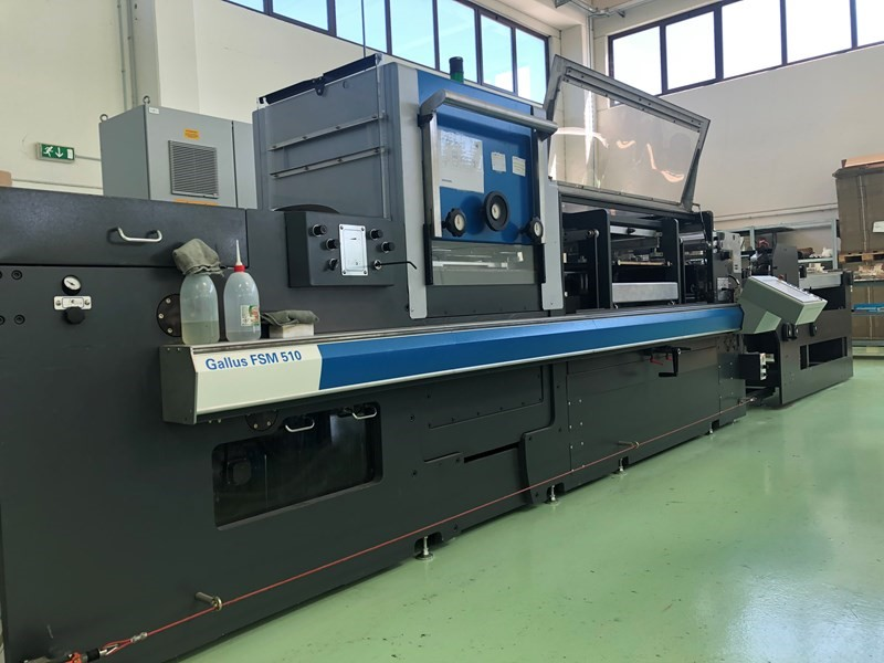 Gallus CCS510 + FMS510 - Used Flexo Printing Presses and Used Flexographic Equipment-2