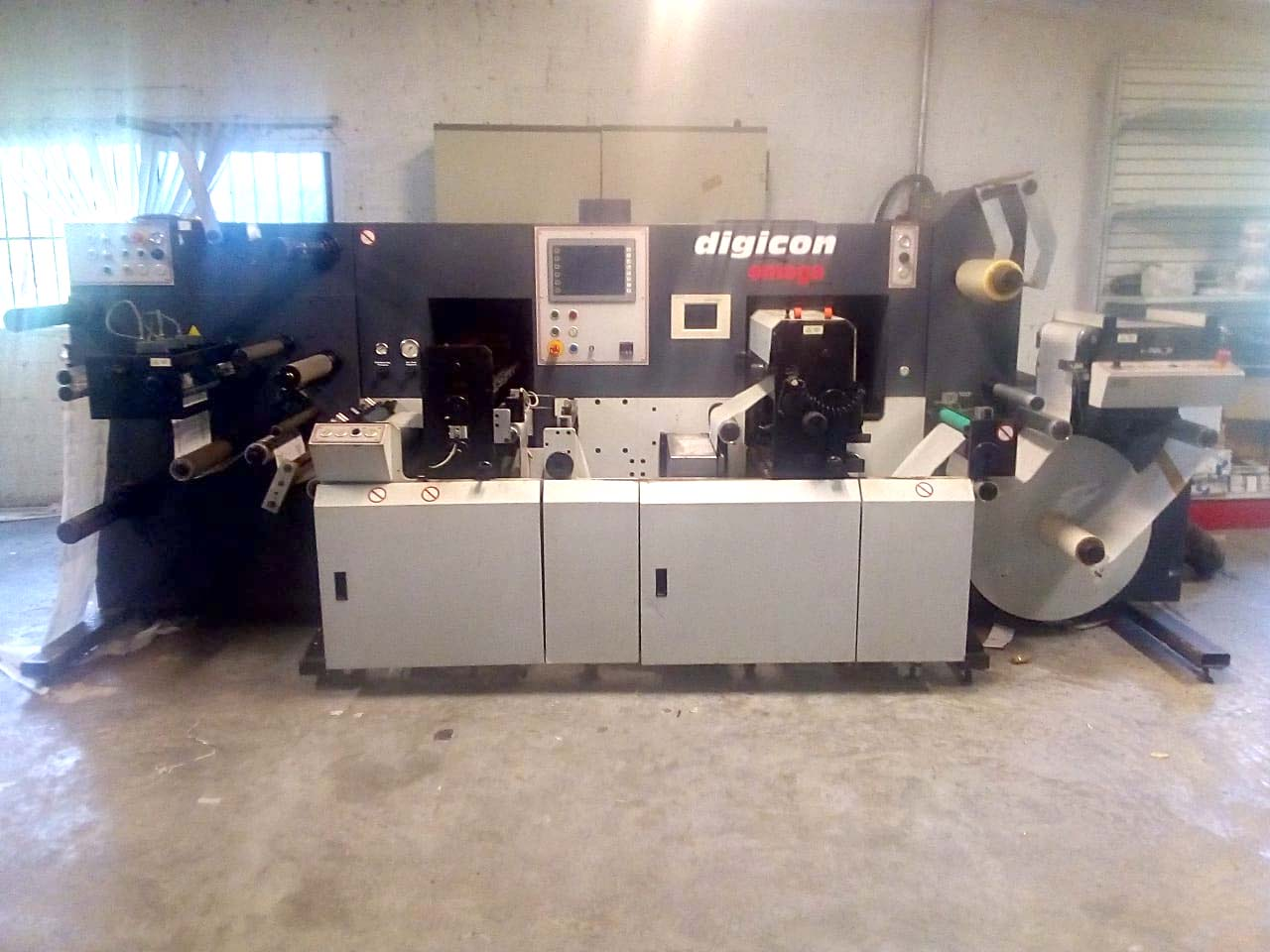 ABG Digicon Series 1 - Used Flexo Printing Presses and Used Flexographic Equipment-0