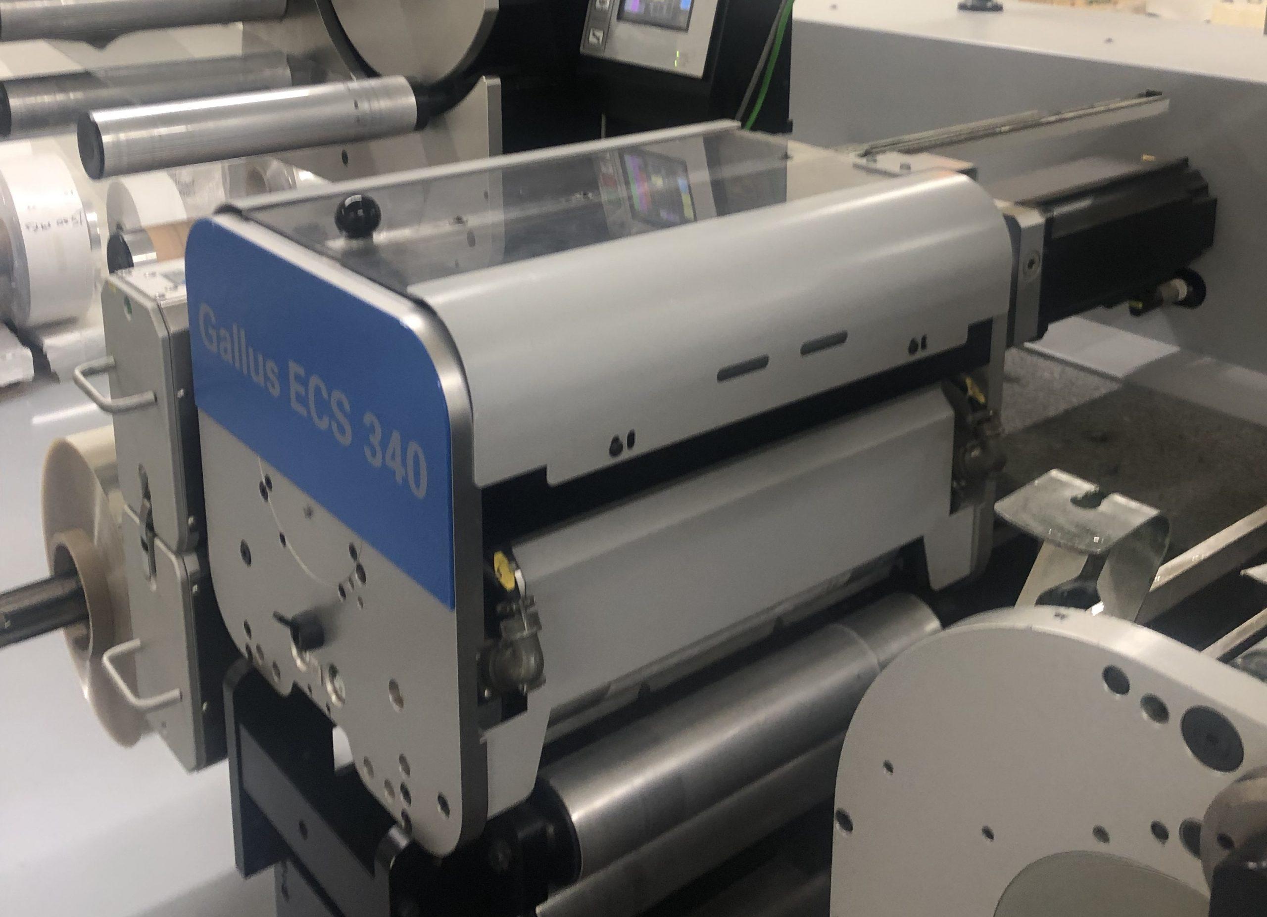 Gallus ECS340 - Used Flexo Printing Presses and Used Flexographic Equipment-0