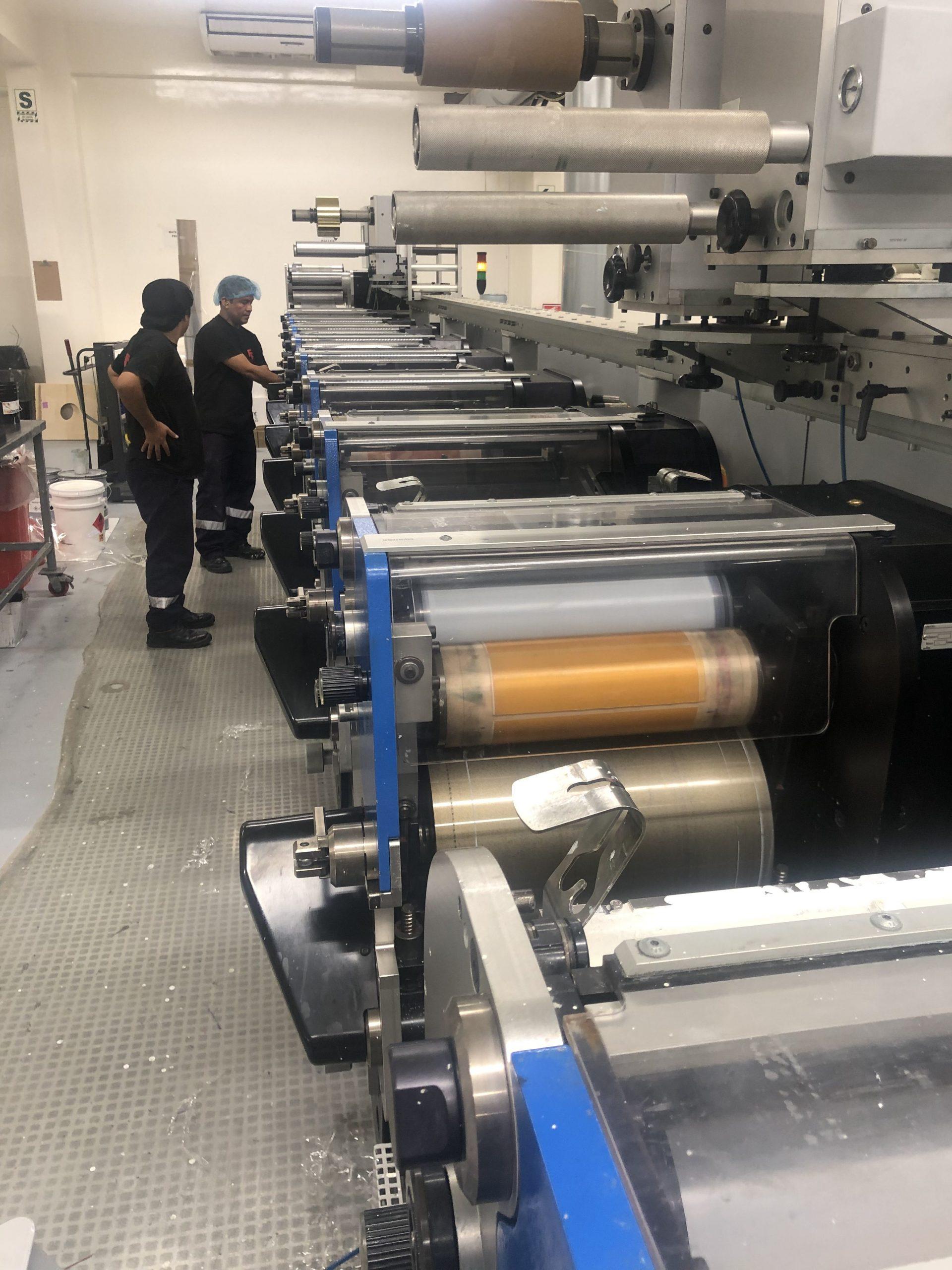 Gallus ECS340 - Used Flexo Printing Presses and Used Flexographic Equipment-1