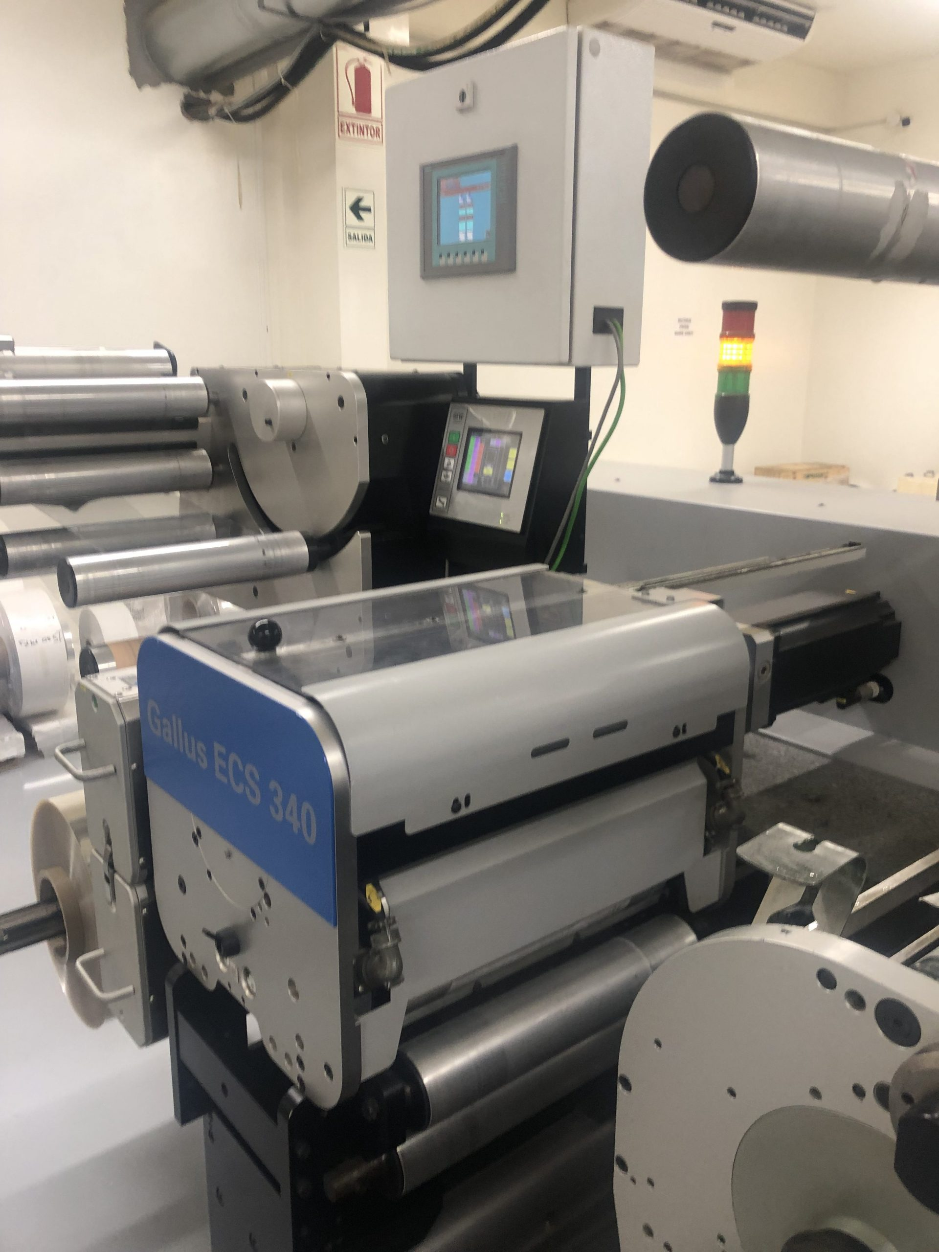 Gallus ECS340 - Used Flexo Printing Presses and Used Flexographic Equipment-3