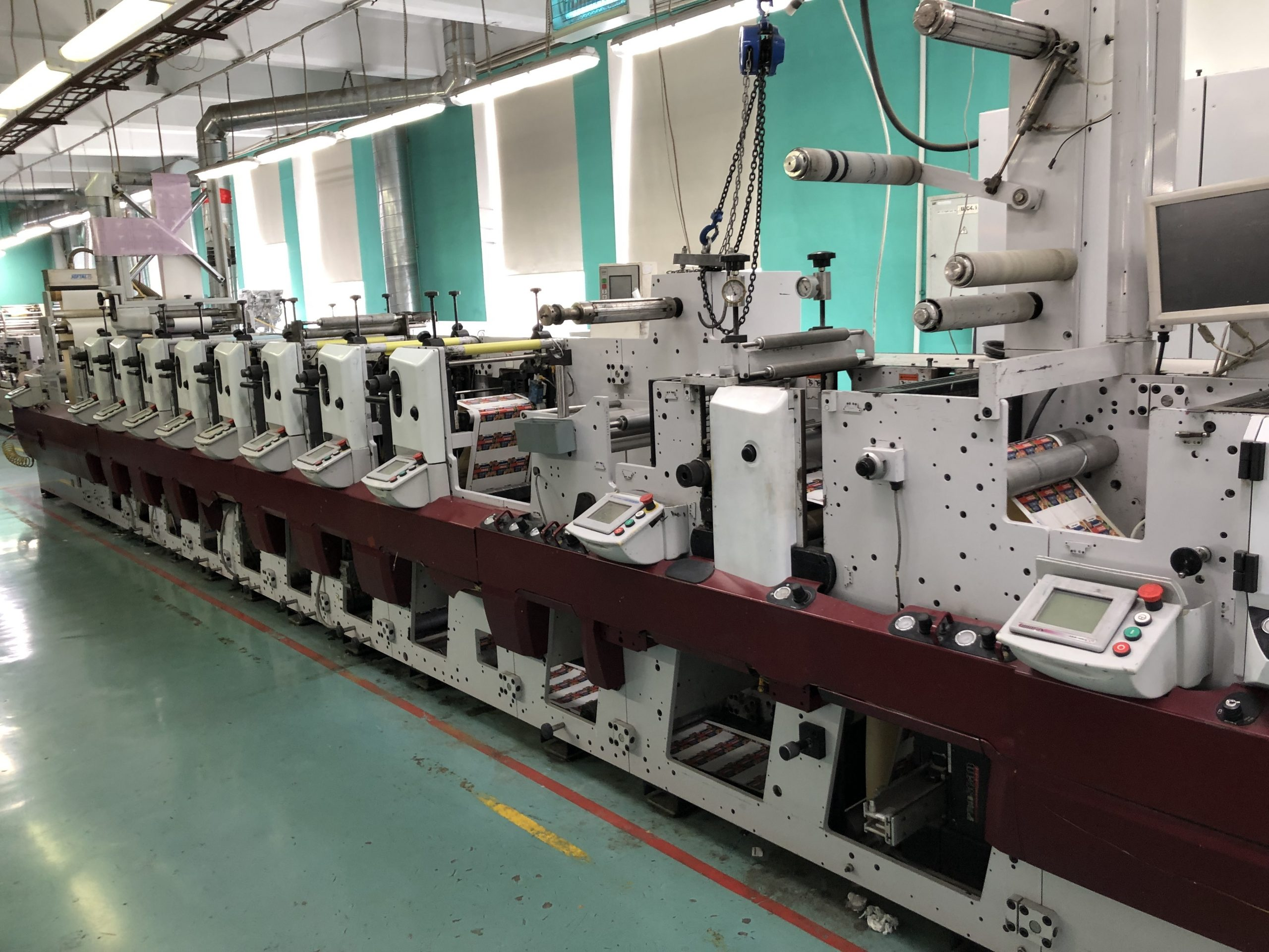 Mark Andy XP5000 - Used Flexo Printing Presses and Used Flexographic Equipment-1