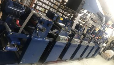 Allied FM3-10/4 - Used Flexo Printing Presses and Used Flexographic Equipment