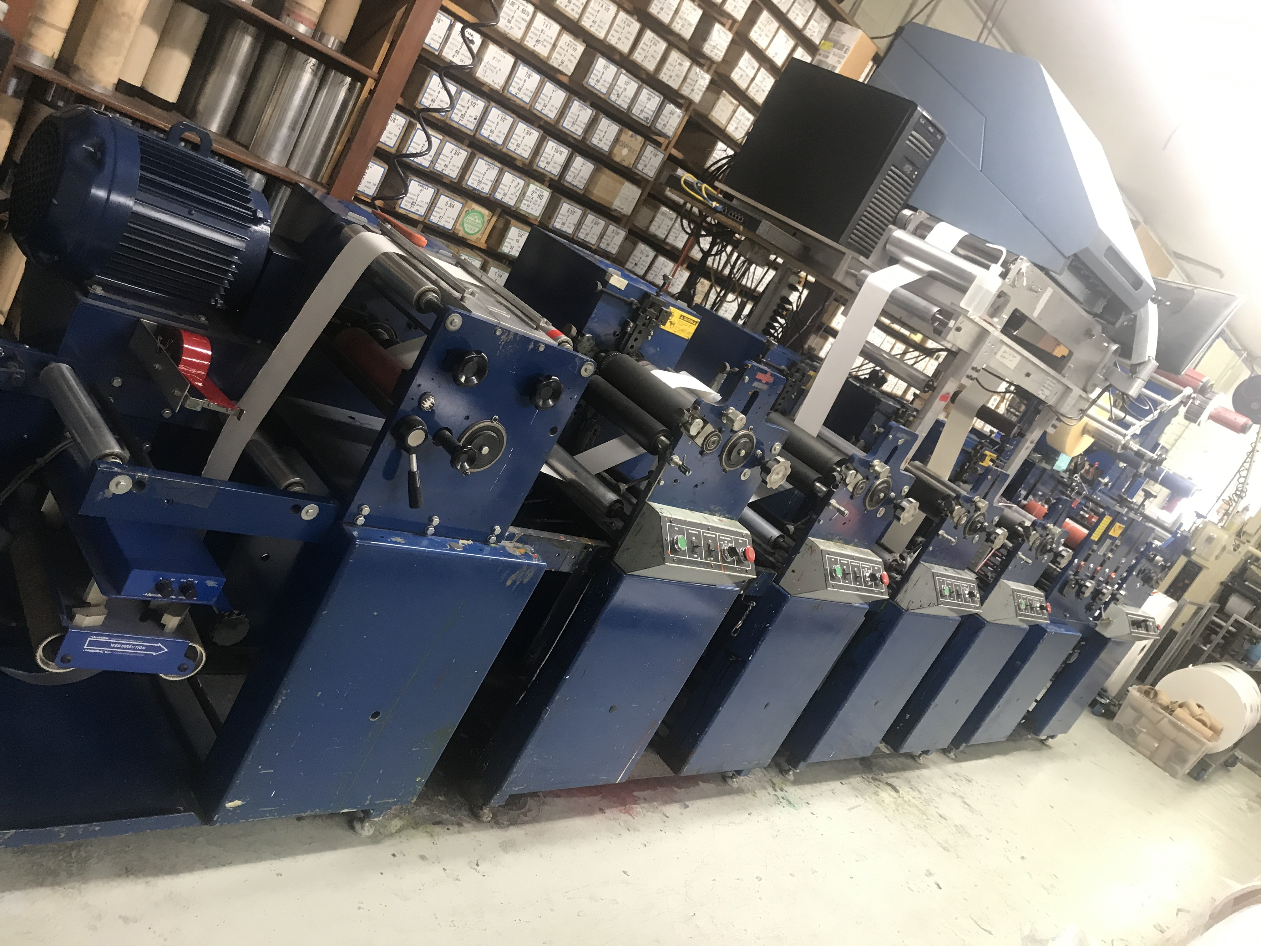 Allied FM3-10/4 - Used Flexo Printing Presses and Used Flexographic Equipment-0