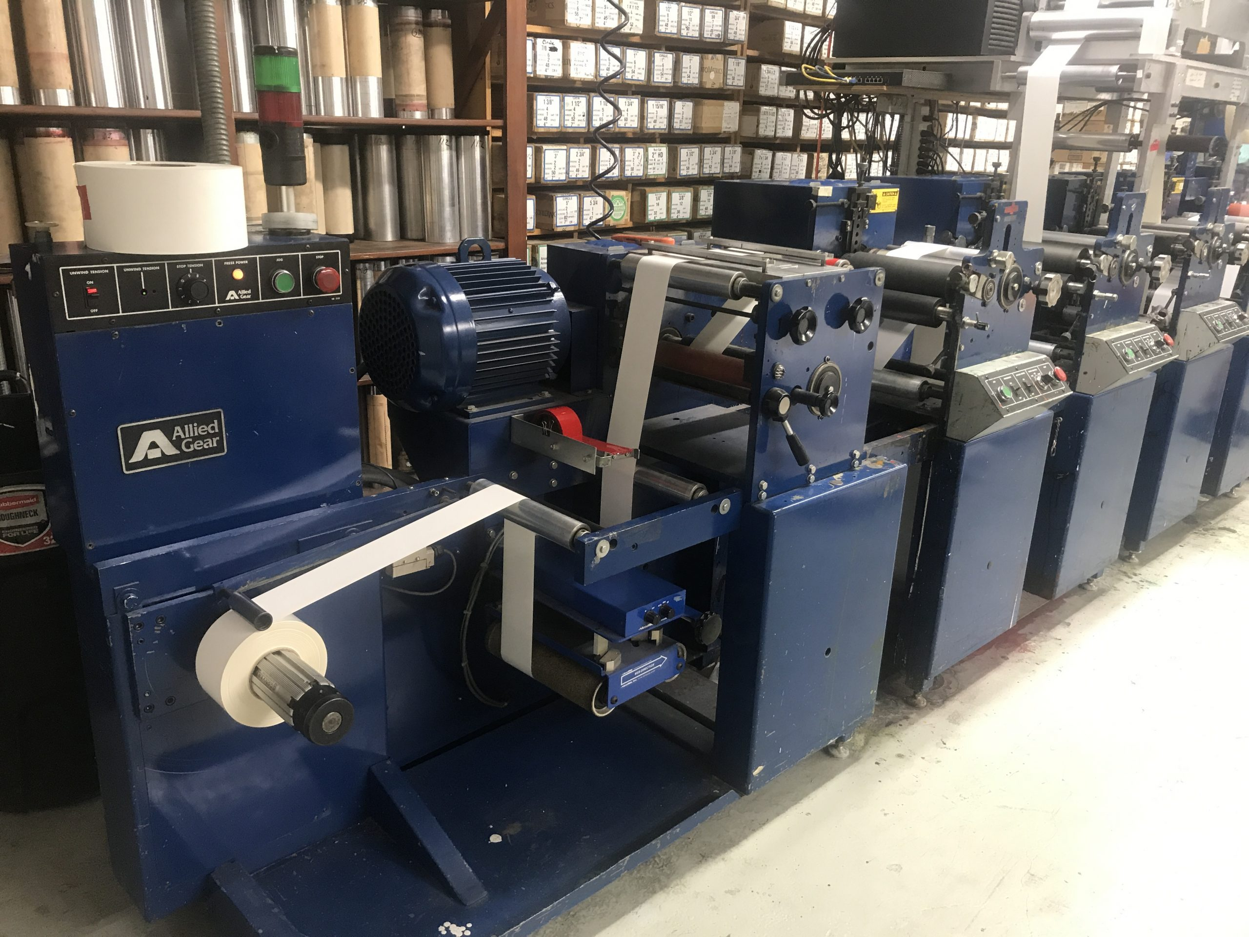Allied FM3-10/4 - Used Flexo Printing Presses and Used Flexographic Equipment-7