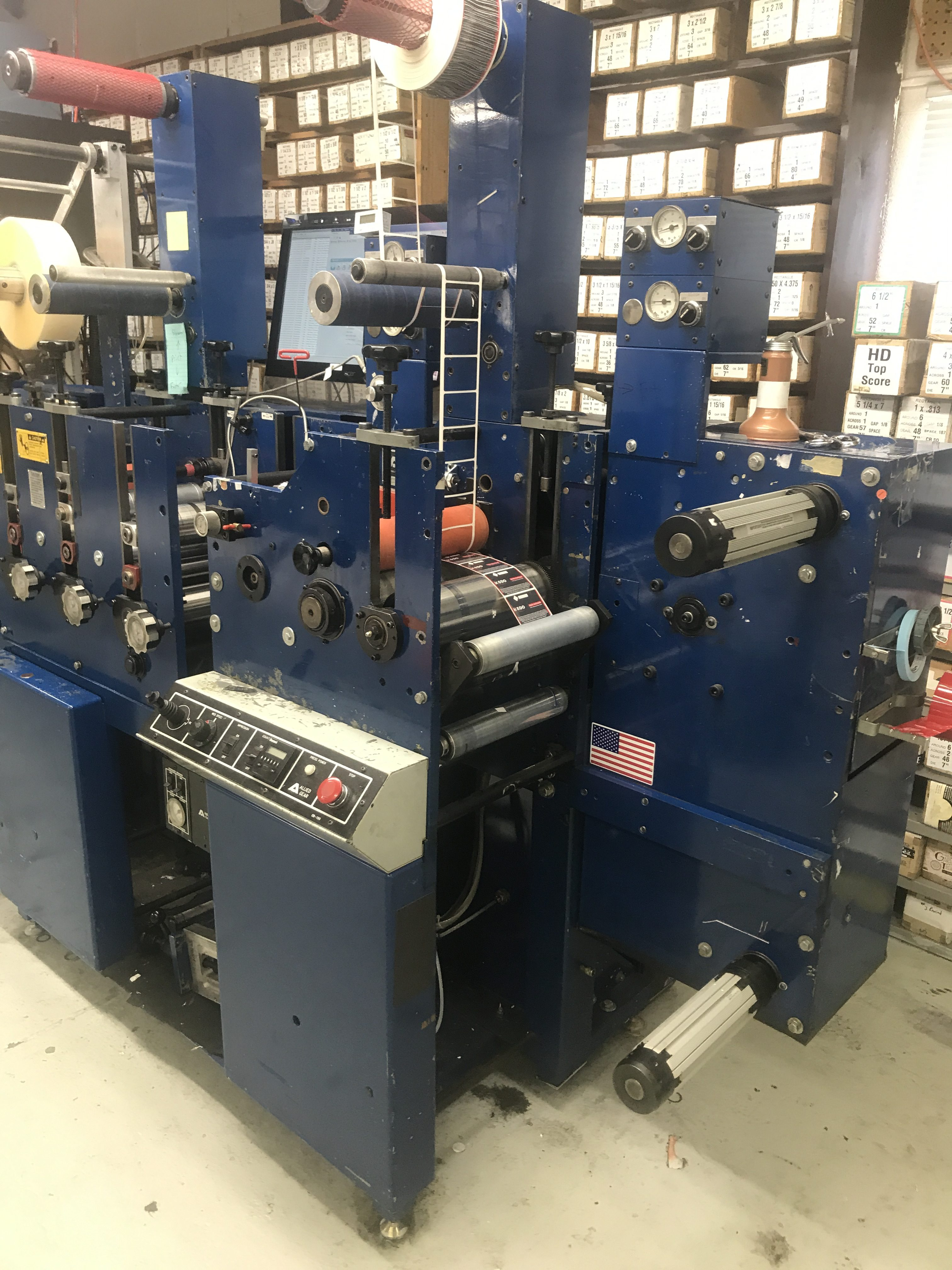 Allied FM3-10/4 - Used Flexo Printing Presses and Used Flexographic Equipment-9