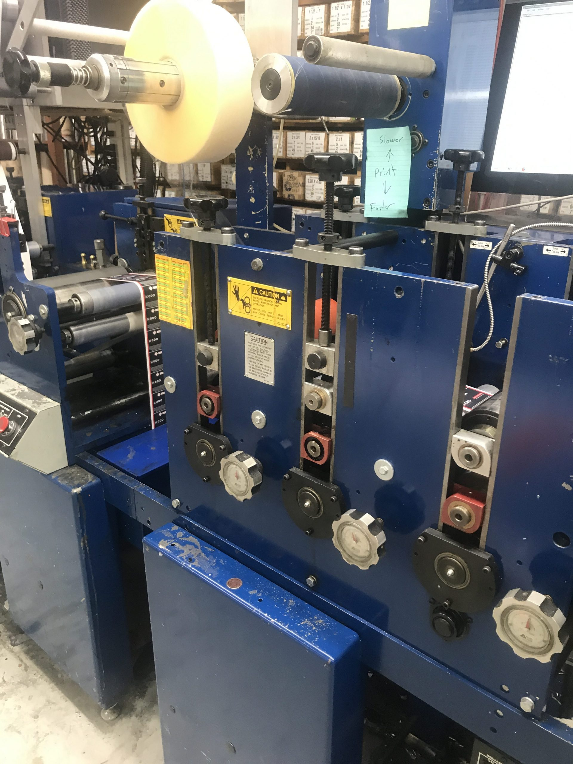 Allied FM3-10/4 - Used Flexo Printing Presses and Used Flexographic Equipment-10