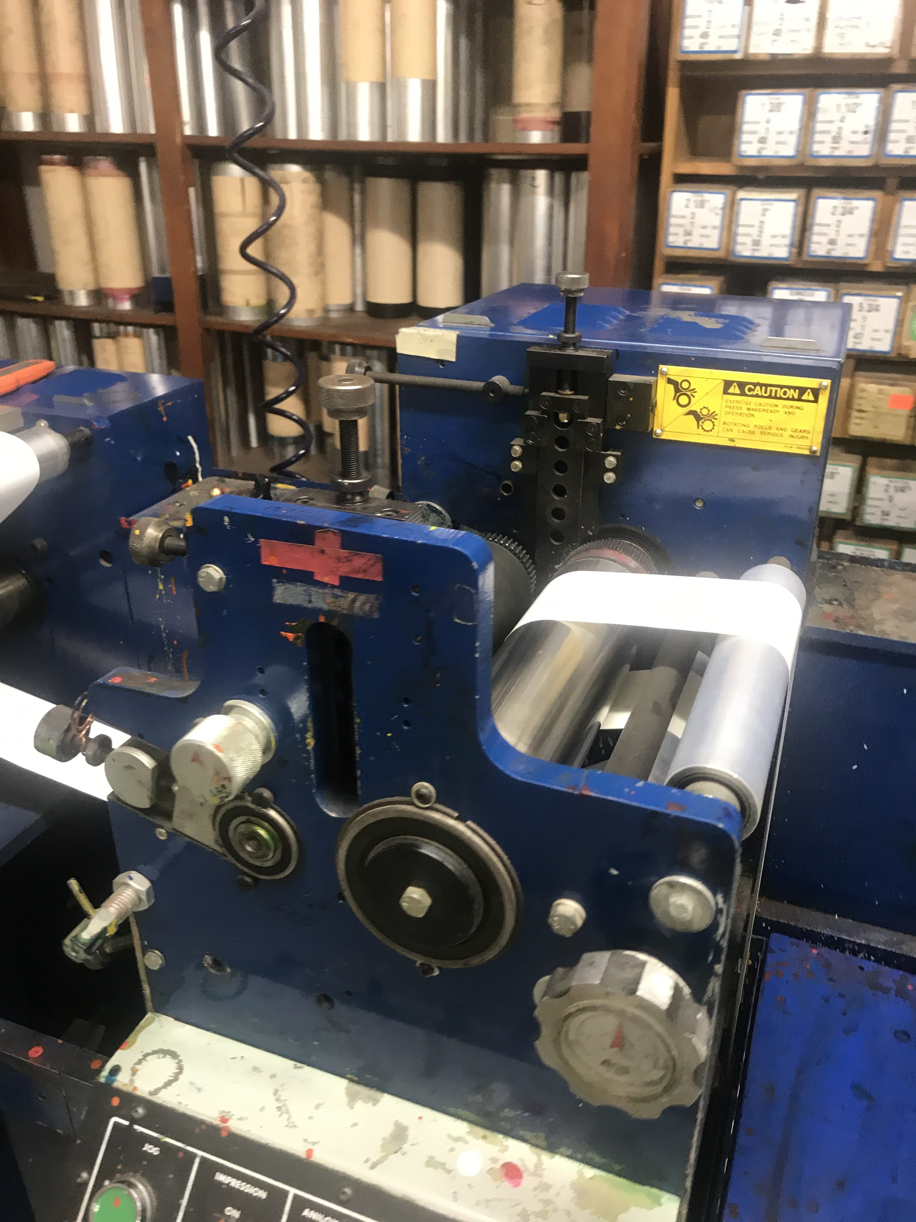 Allied FM3-10/4 - Used Flexo Printing Presses and Used Flexographic Equipment-13