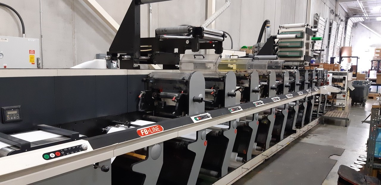 Nilpeter FB3 Servo - Used Flexo Printing Presses and Used Flexographic Equipment-0