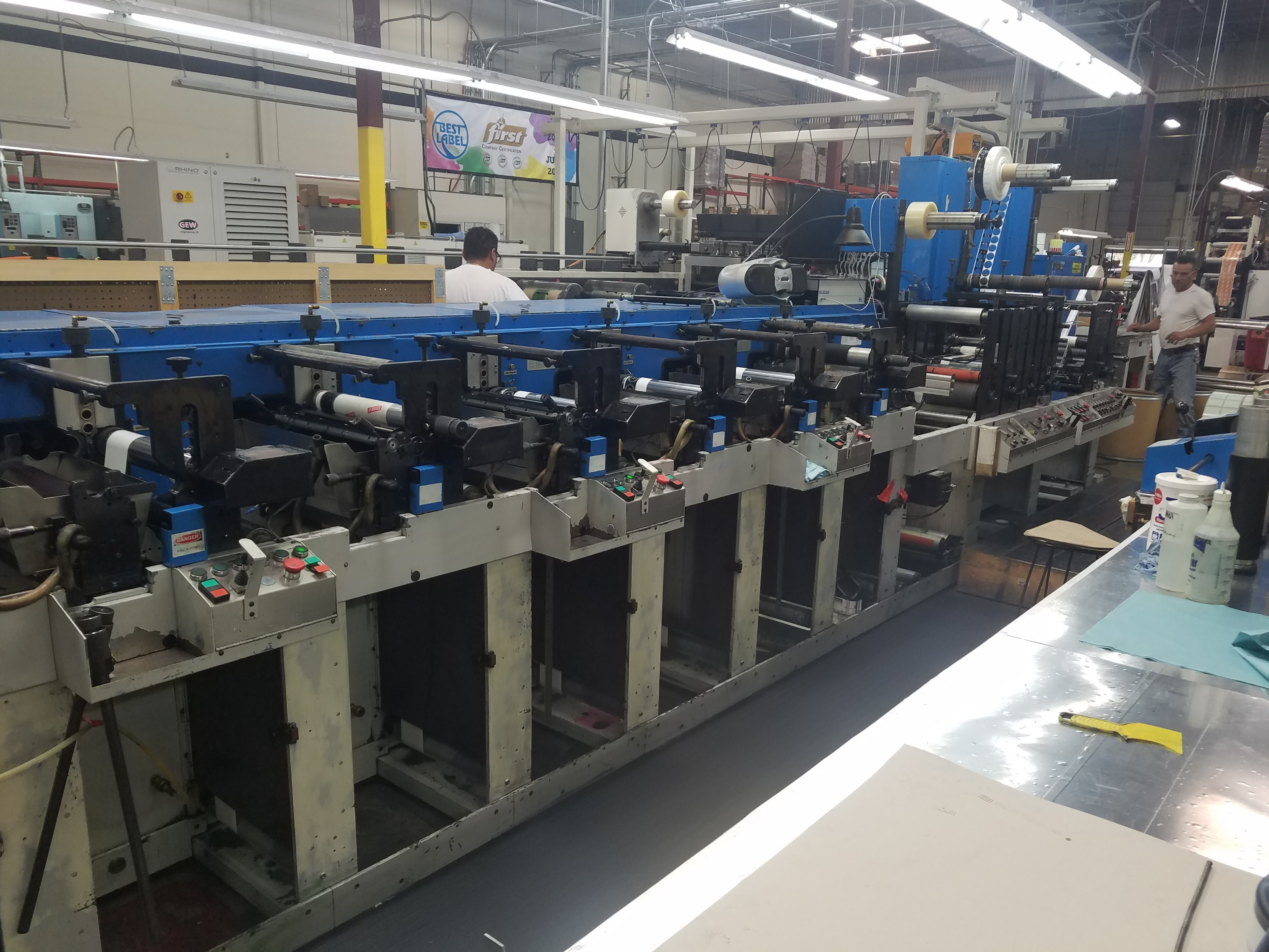 Rotopress - Used Flexo Printing Presses and Used Flexographic Equipment-0