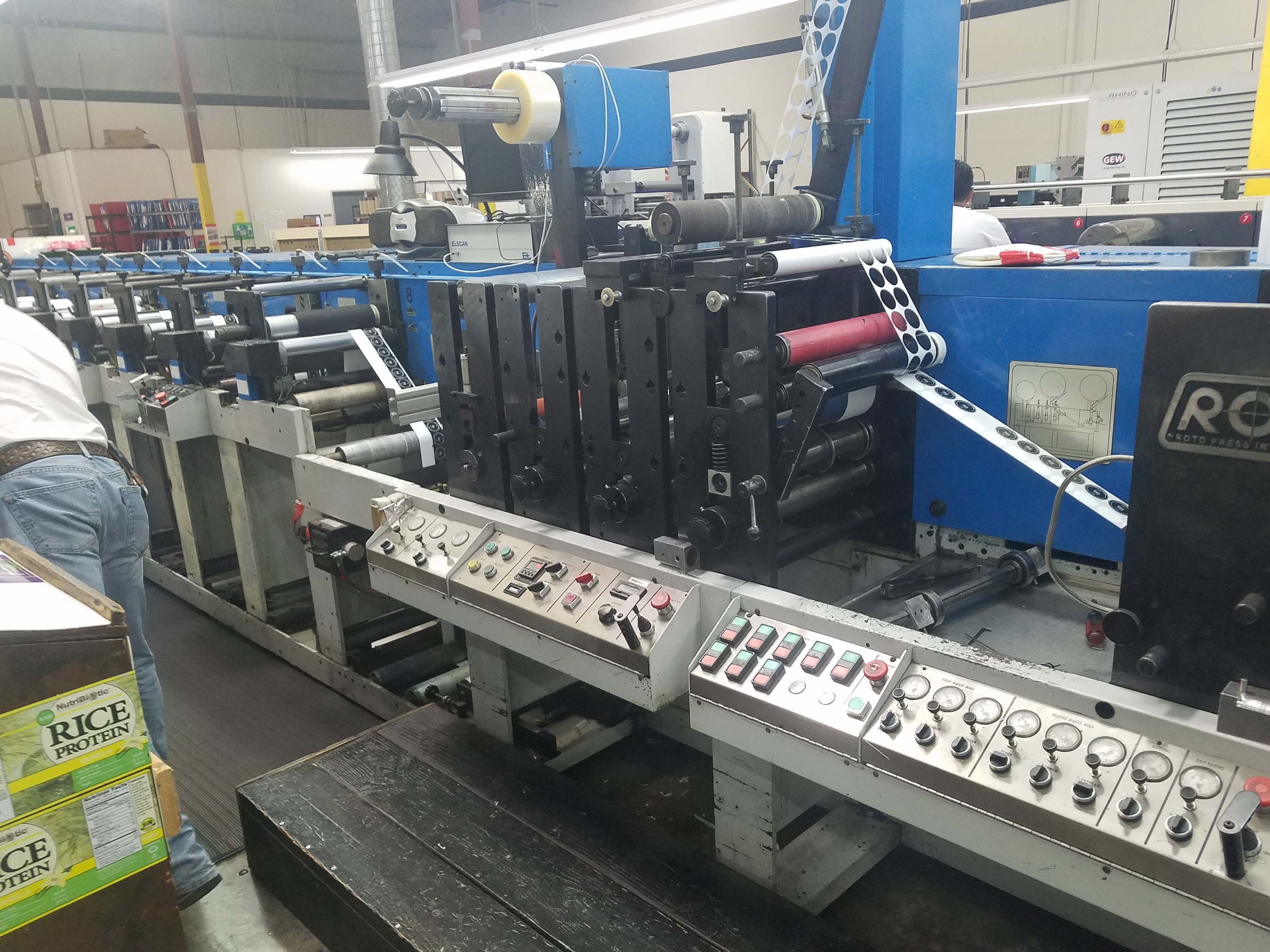 Rotopress - Used Flexo Printing Presses and Used Flexographic Equipment-4