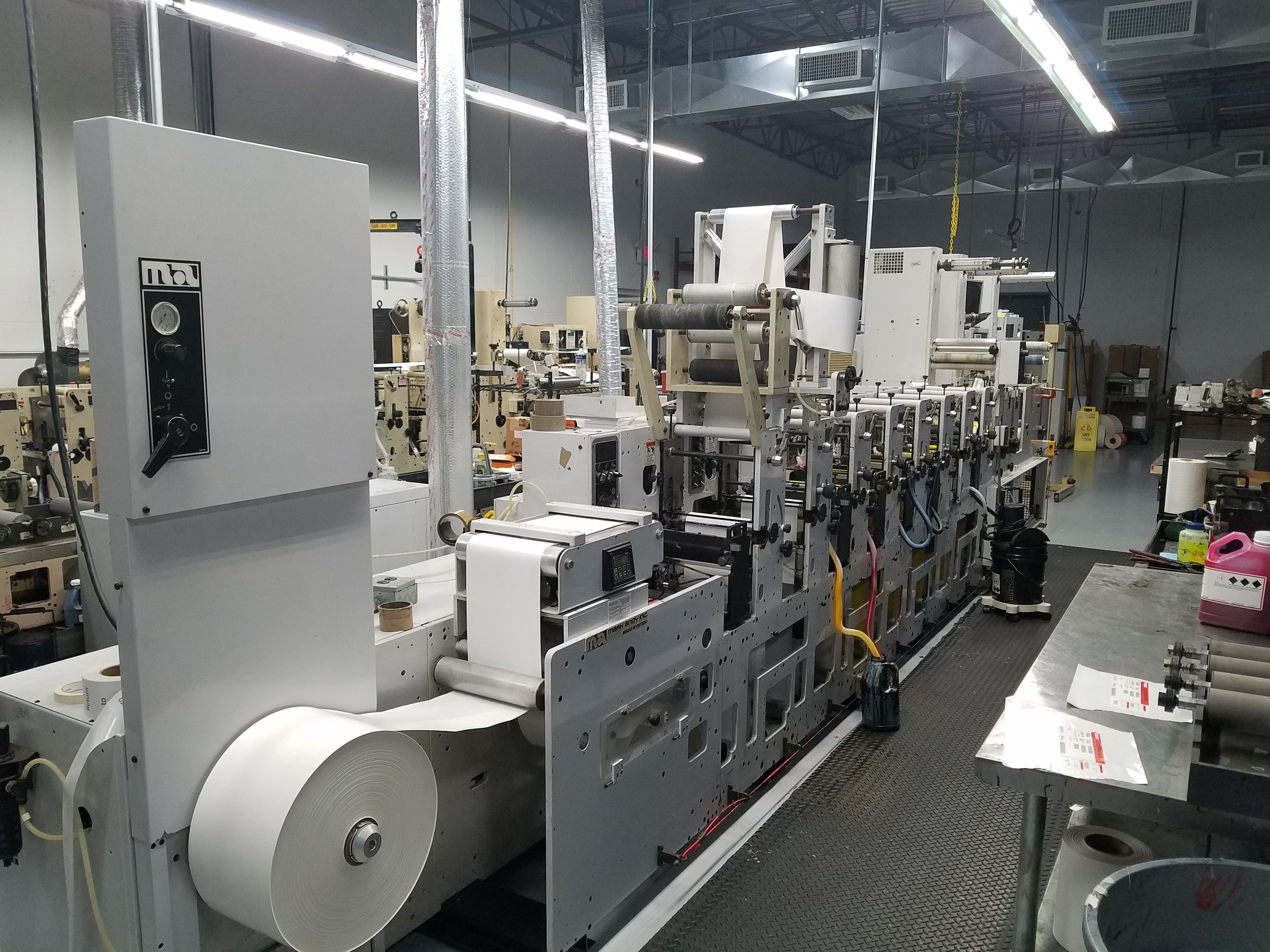 Mark Andy 2200 H Series - Used Flexo Printing Presses and Used Flexographic Equipment-0
