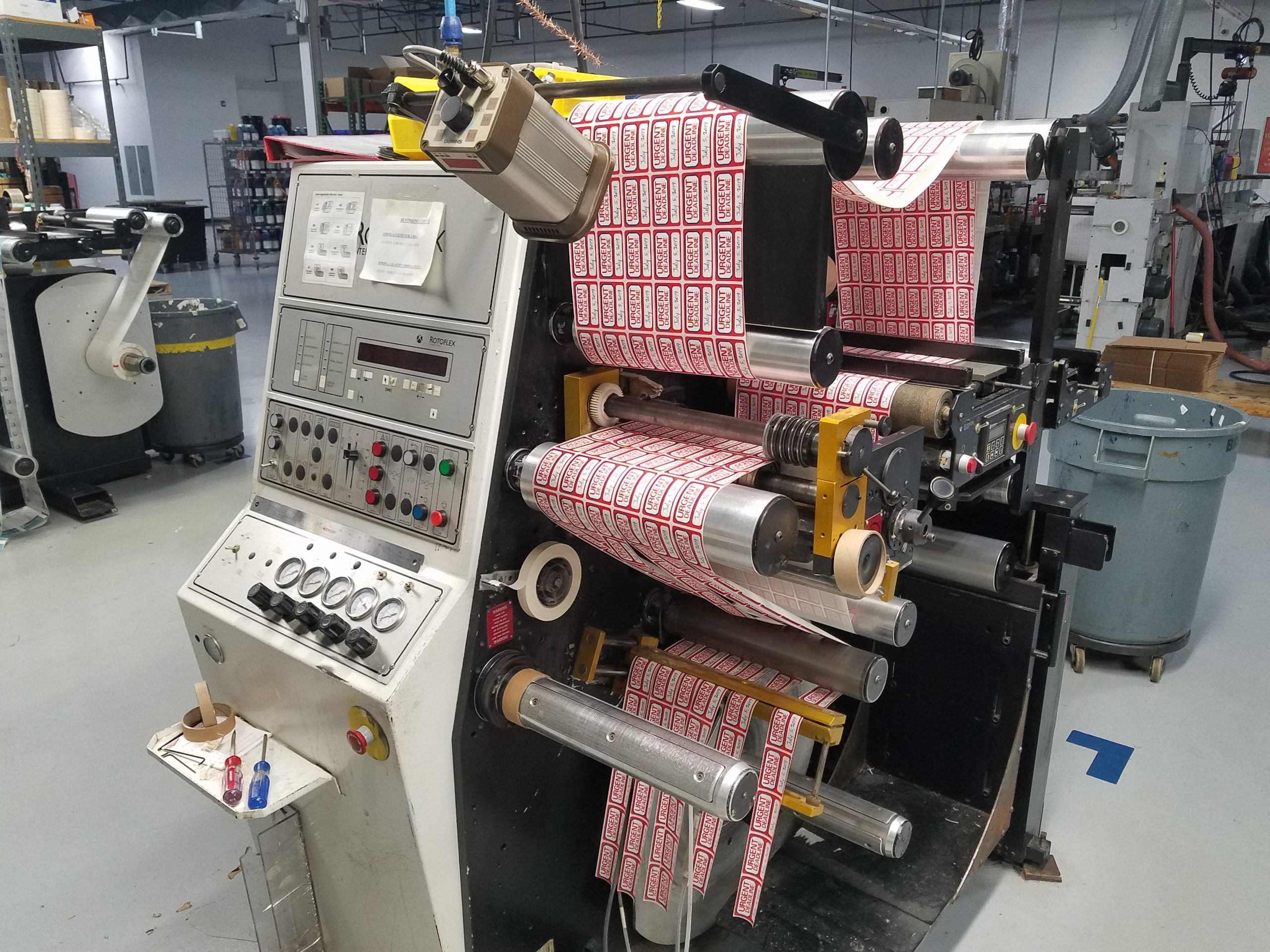 Rotoflex VSI330 - Used Flexo Printing Presses and Used Flexographic Equipment-0
