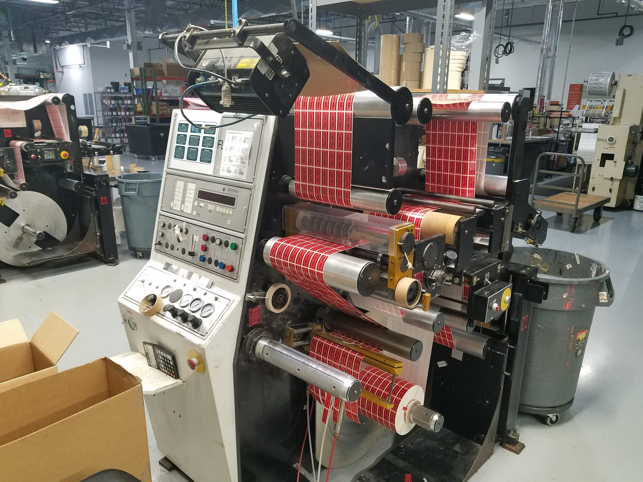 Rotoflex VSI330 - Used Flexo Printing Presses and Used Flexographic Equipment-0