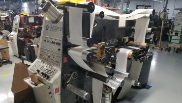 Rotoflex VLI250 - Used Flexo Printing Presses and Used Flexographic Equipment