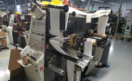Rotoflex VLI250 - Used Flexo Printing Presses and Used Flexographic Equipment