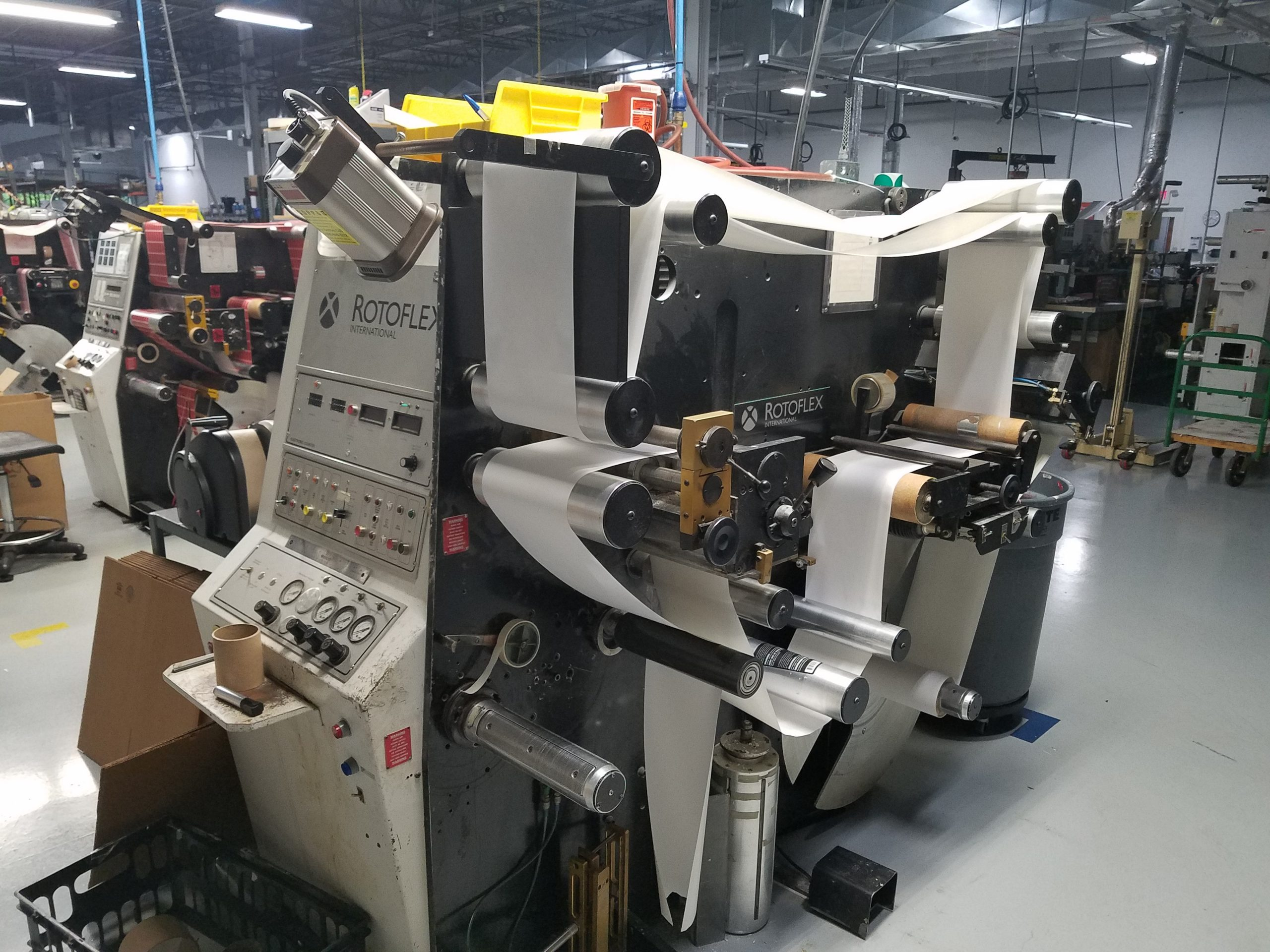Rotoflex VLI250 - Used Flexo Printing Presses and Used Flexographic Equipment-0