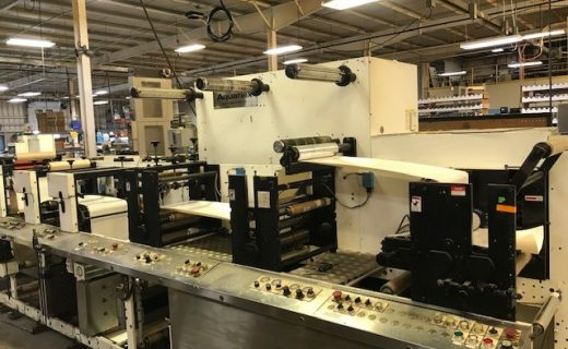 Aquaflex BX 1302 - Used Flexo Printing Presses and Used Flexographic Equipment