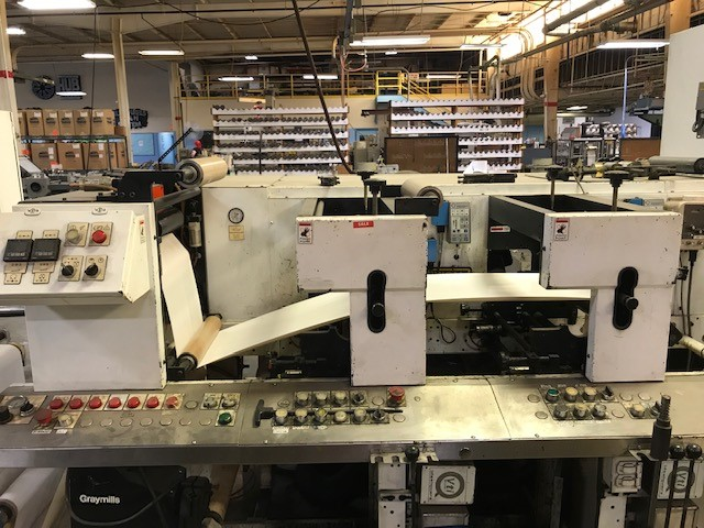 Aquaflex BX 1302 - Used Flexo Printing Presses and Used Flexographic Equipment-4