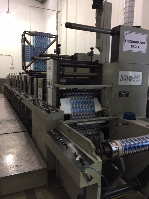Ekofa 600-9 - Used Flexo Printing Presses and Used Flexographic Equipment-1
