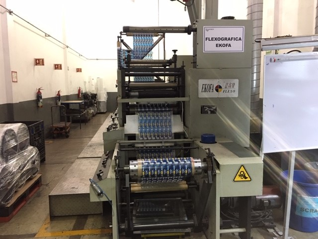 Ekofa 600-9 - Used Flexo Printing Presses and Used Flexographic Equipment-2