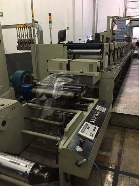Ekofa 600-9 - Used Flexo Printing Presses and Used Flexographic Equipment-8