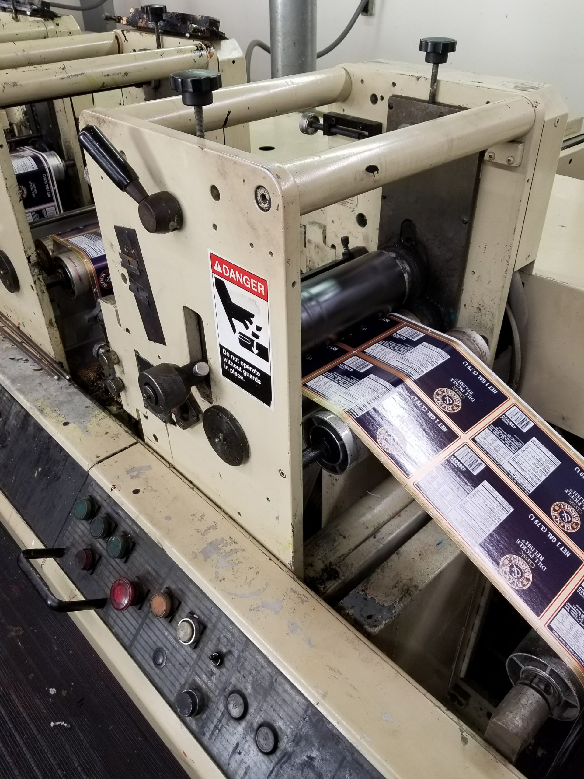 Mark Andy 4140/4150 - Used Flexo Printing Presses and Used Flexographic Equipment-1