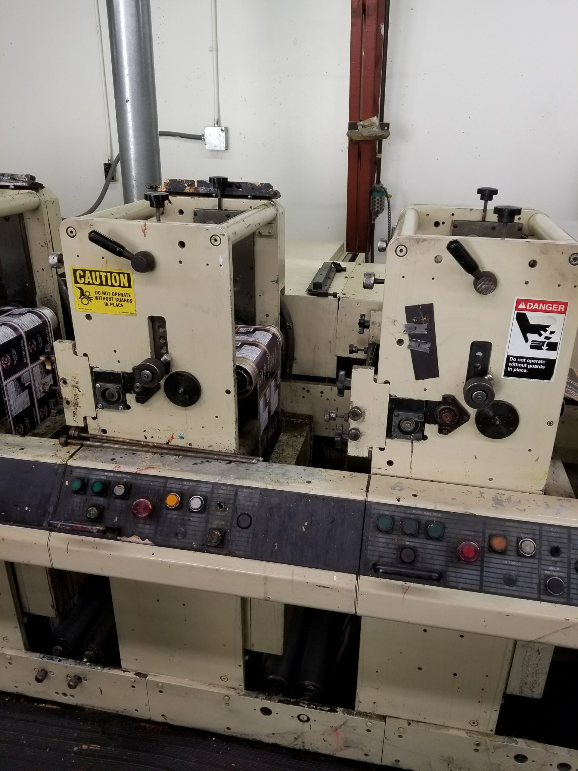 Mark Andy 4140/4150 - Used Flexo Printing Presses and Used Flexographic Equipment-3