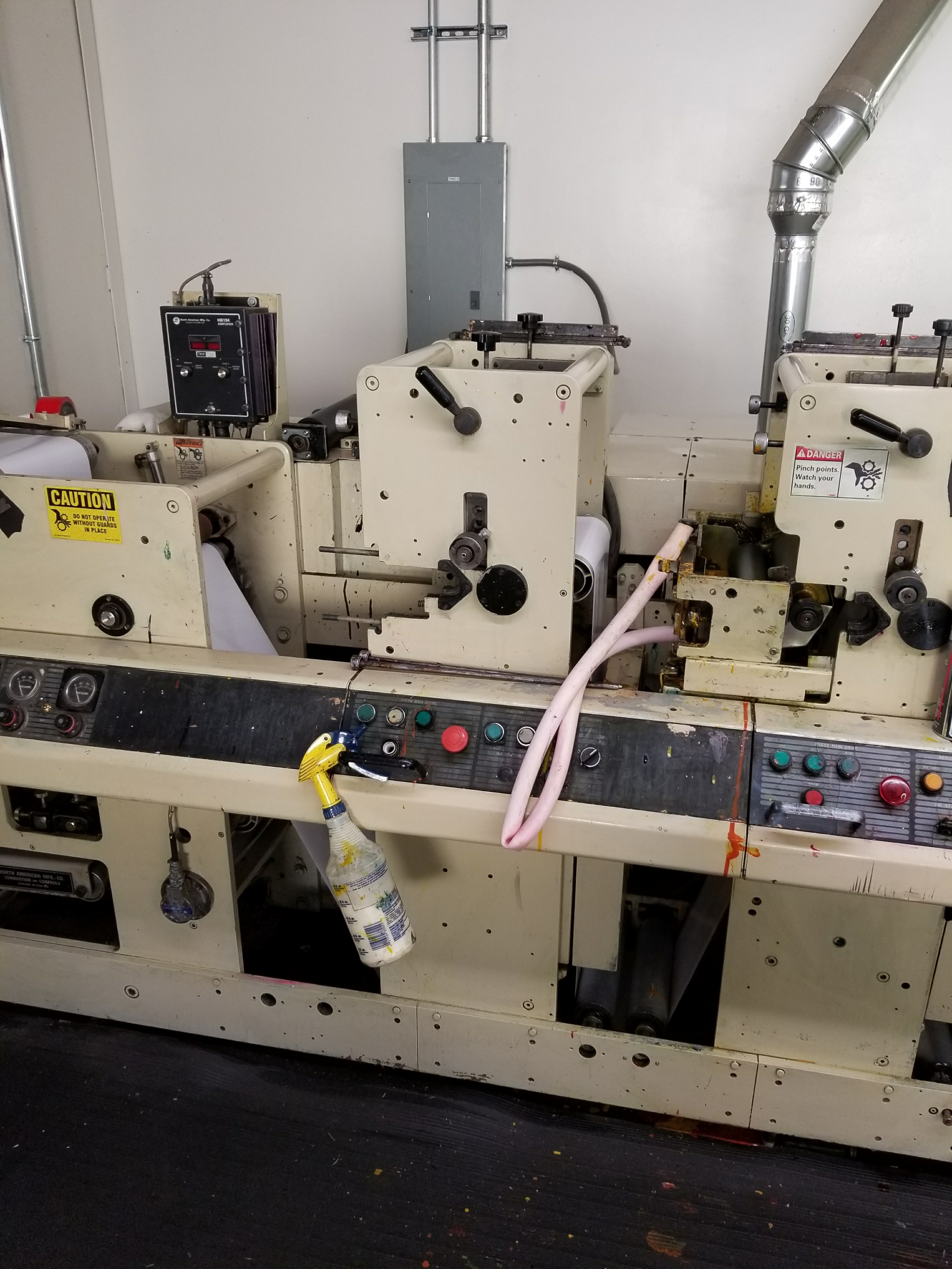 Mark Andy 4140/4150 - Used Flexo Printing Presses and Used Flexographic Equipment-4