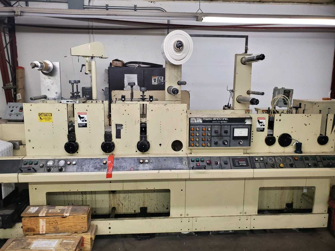 Mark Andy 4140/4150 - Used Flexo Printing Presses and Used Flexographic Equipment-8