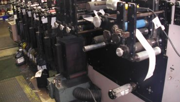 Webtron 750 HQV - Used Flexo Printing Presses and Used Flexographic Equipment