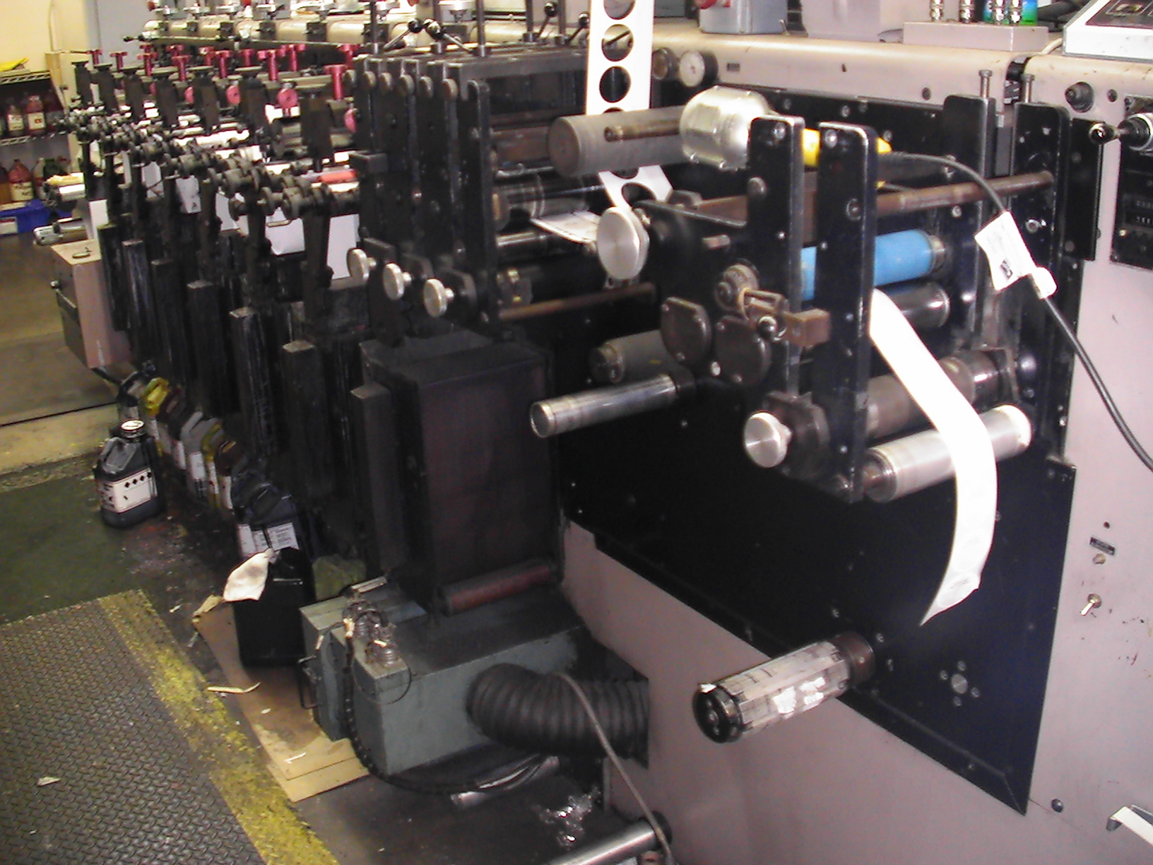 Webtron 750 HQV - Used Flexo Printing Presses and Used Flexographic Equipment-0