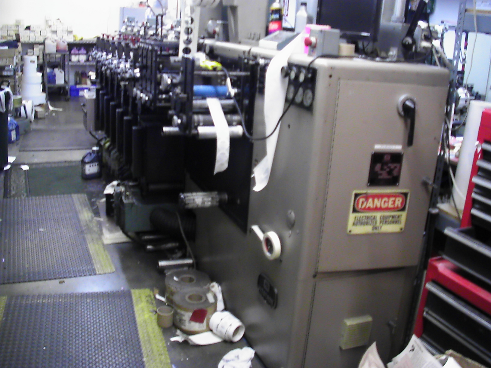 Webtron 750 HQV - Used Flexo Printing Presses and Used Flexographic Equipment-2