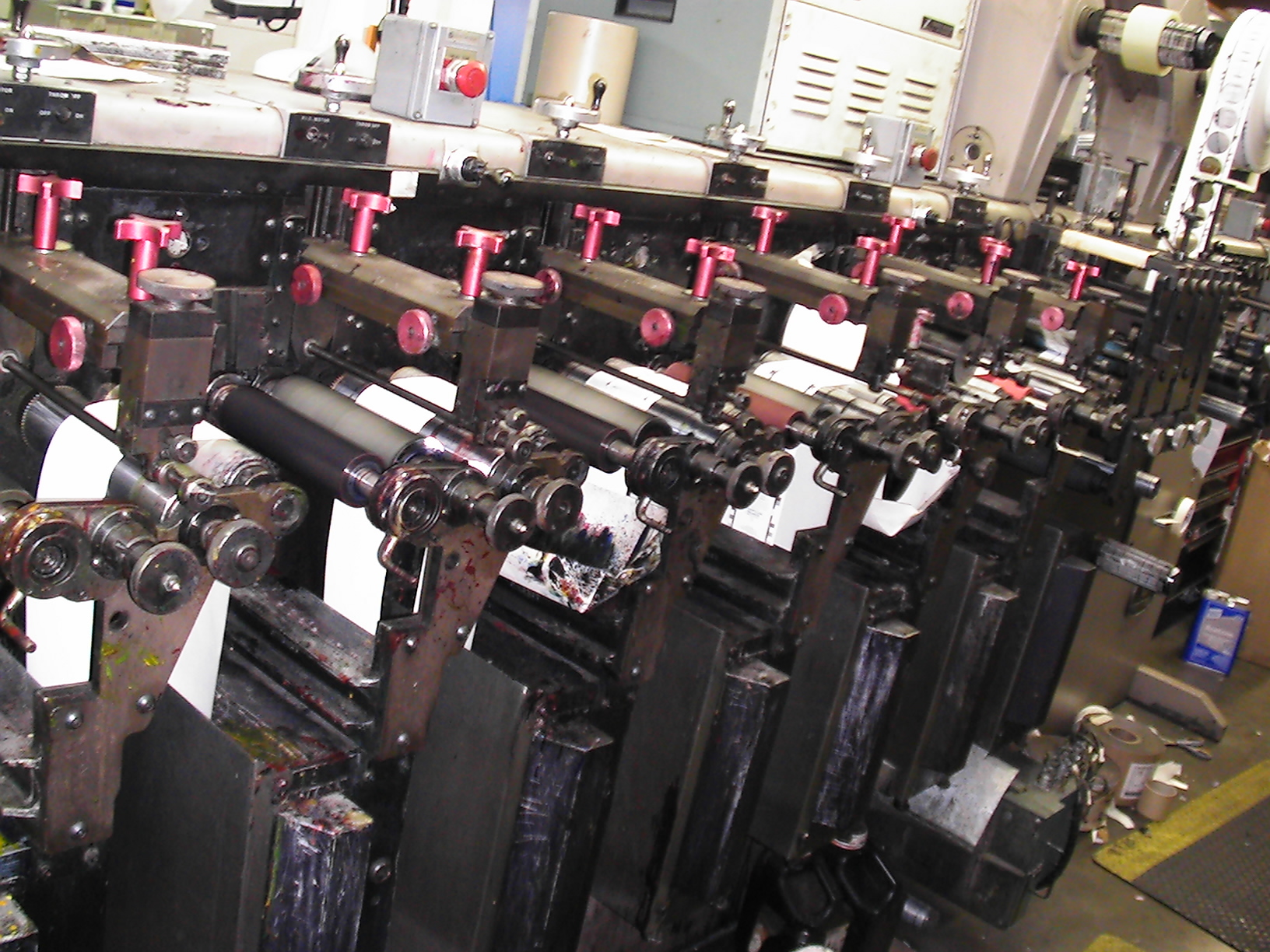 Webtron 750 HQV - Used Flexo Printing Presses and Used Flexographic Equipment-5