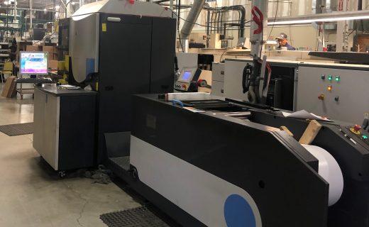 HP Indigo WS4500 - Used Flexo Printing Presses and Used Flexographic Equipment