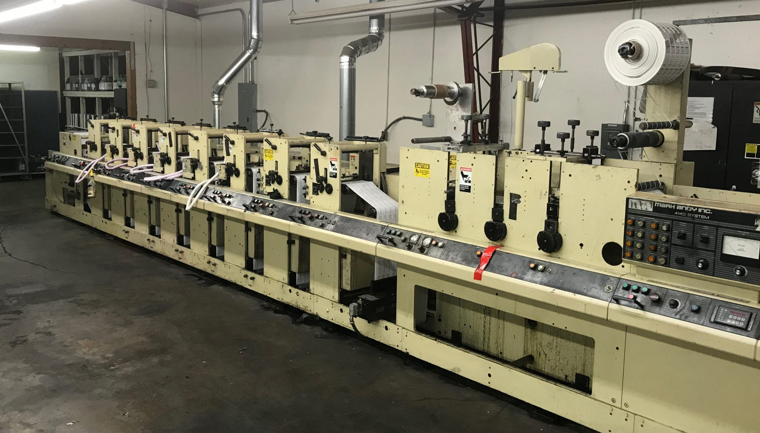 Mark Andy 4140/4150 - Used Flexo Printing Presses and Used Flexographic Equipment-0