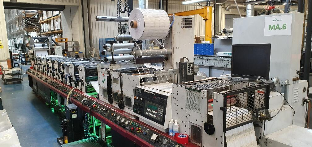 Mark Andy 4150 - Used Flexo Printing Presses and Used Flexographic Equipment-7